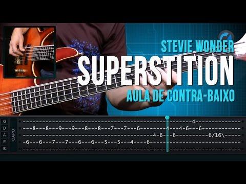 Stevie Wonder Superstition como tocar aula de contra baixo
