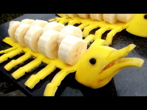 Как сделать бананы для украшения