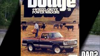 70's and 80's Dodge Trucks