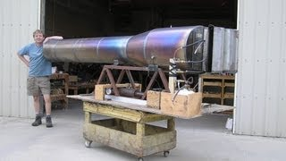 RocketMan: German V-1 size Pulsejet Cruise missile Engine.