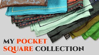 My Pocket Square Collection - Gentleman's Gazette