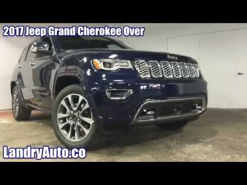 2017 jeep grand cherokee overland changes youtube