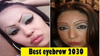 Women With Odd and Funny Eyebrows