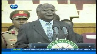 Kibaki's best moments of laughter as President