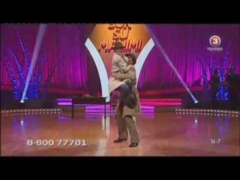 Šok su manimi - Petras Daunys ir Sandra Saikauskaitė (2012-11-24)