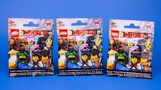Lego Ninjago Movie Mystery/Blind Pack Opening part 2