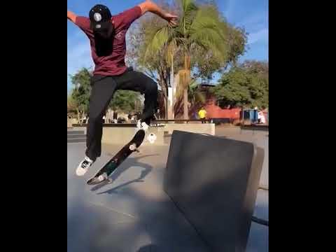 Got pop with @keatu | Shralpin Skateboarding