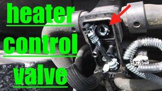 QUICK FIX NO HEAT Diagnose Heater Control Valve Nissan Armada √ Fix It Angel