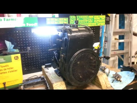 John Deere 210 - Kohler K241 to K301 Swap - Part 1