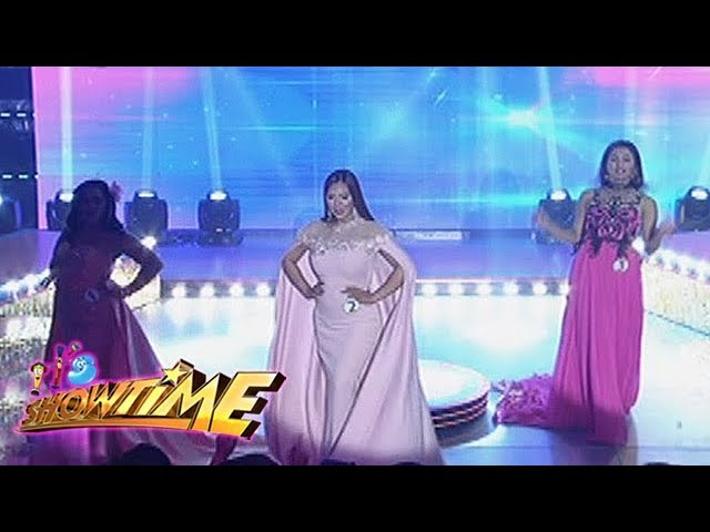 It's Showtime Miss Q & A: Candidates showcase their wit