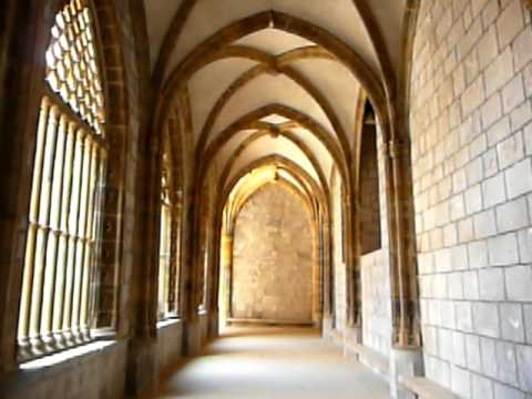 Cloister Deba's church.Spain. Basque Country. Apartment beach, Accommodation, holidays rental