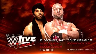 Jinder Mahal, Triple H get ready to make history this December