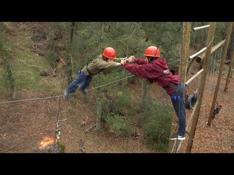 HIGH ROPES CHALLENGE COURSE @ Camp Stevens (Julian, CA)