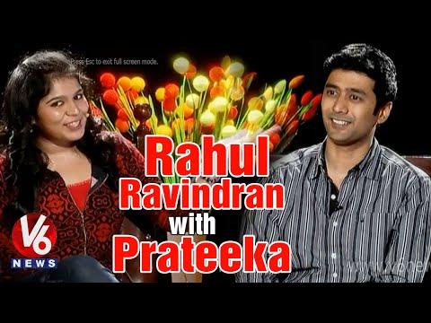'Andala Rakshasi' Rahul Ravindra Chit Chat with Prateeka | V6 Prateeka Show | Pakka Hyderabadi Photo Image Pic