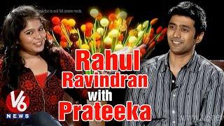 Andala Rakshasi - 'Andala Rakshasi' fame Rahul Ravindra Chit Chat with Prateeka | V6 Prateeka Show | Pakka Hyderabadi