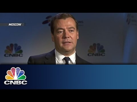 German-Russian Relations Not Damaged | Medvedev Exclusive | CNBC International