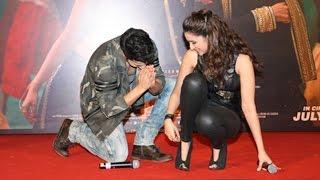 Varun Dhawan's FUNNY Moment With Parineeti Chopra At Jaaneman Aah Song Launch Dishoom
