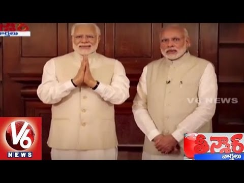 PM Modi Meets Modi | Wax Statue Of Narendra Modi Installed At Madame Tussauds | Teenmaar News