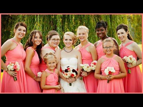 I Was A Bridesmaid!! Madilyn Bailey & Jimmy's Wedding! - Ali Brustofski