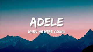 Adele - When We Were Yog
