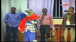 Eglise Roc Solide, Espoir pour Haiti avec le Général de Dieu Dieunedort Kamdem