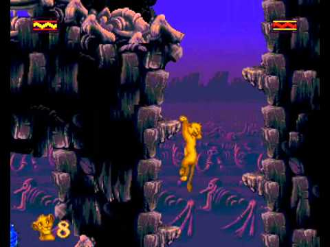 The Lion King - Lion King, The (GEN) - Level 3: The Elephant Graveyard - User video