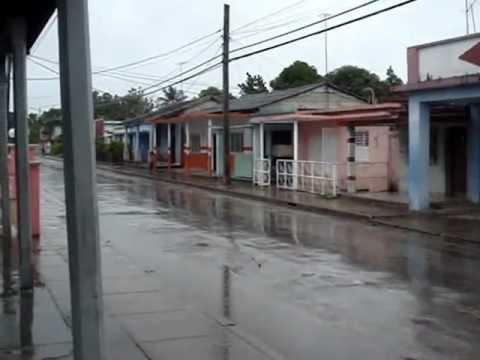 Bienvenida la lluvia