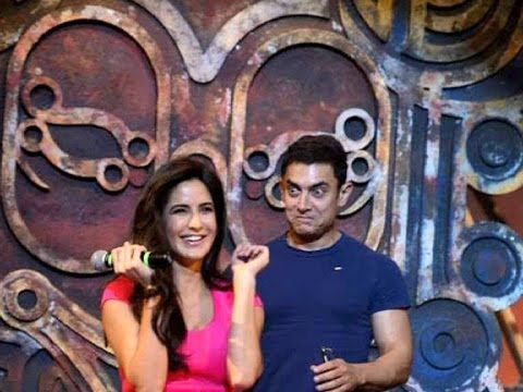 Aamir & Katrina Unveil 'dhoom Machale' Song video