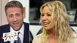 'This is an inside job! How do you botch an inside job?' Max reacts to Jeanie Buss | First Take