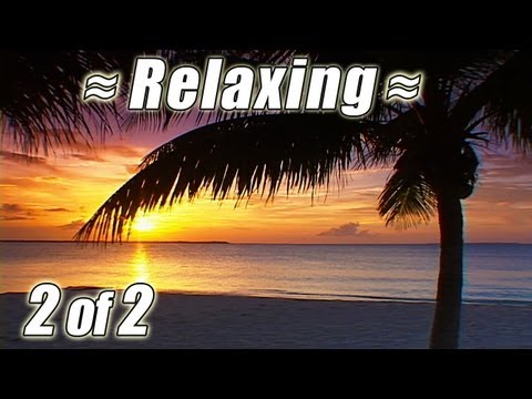 RELAXING Wave SOUNDS OF NATURE #2 Best Ocean Waves BAHAMAS BEACHES Relaxation Video Relax