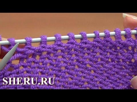 Видео уроки по вязанию азы