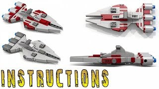 INSTRUCTIONS: STAR WARS Arquitens Class Light Cruiser (Micro)