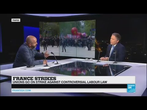 """France labour law protests: """"the first responsible of the troubles is the government"""""""