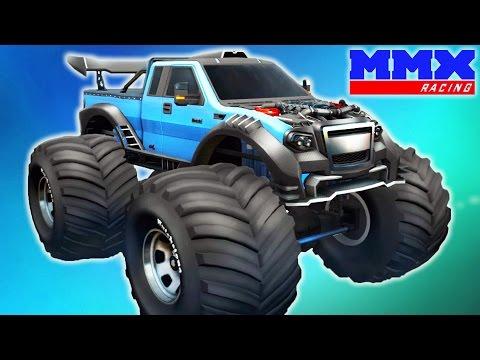 MMX Hill Climb НОВЫЕ ТРАССЫ И ТАЧКИ! Игровой мультик для детей про ГОНКИ на машинках Монстр Трак
