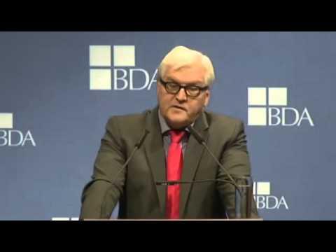 Frank-Walter Steinmeier auf dem Deutschen Arbeitgebertag 2013