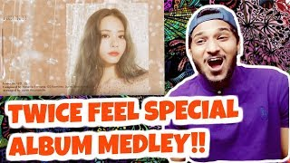"THIS COMEBACK IS GONNA BE CRAZY!! TWICE ""FEEL SPECIAL"" ALBUM MEDLEY REACTION"