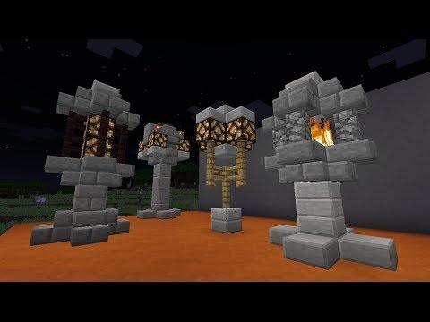 DECORATIVE MINECRAFT. Column in minecraft - YouTube