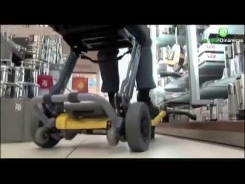 Scooter eléctrico compacto de aluminio plegable LUGGIE