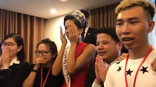 """Những khoảnh khắc ăn mừng U23 """"siêu độc""""của sao Việt - TIN HOT 24h"""