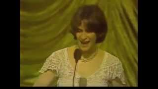 Amanda Plummer wins 1982 Tony Award for Best Featured Actress in a Play