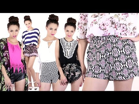 Summer Outfits with Shorts! Outfit Ideas with Cute Shorts