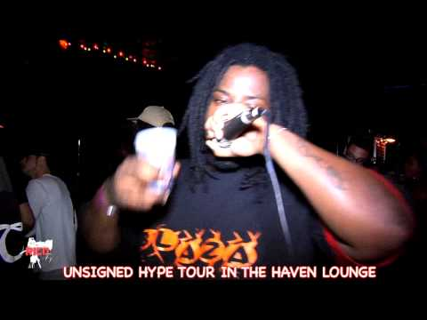 HITMAN AND BLAZA AT UNSIGNED HYPE TOUR AT THE HAVEN LOUNGE