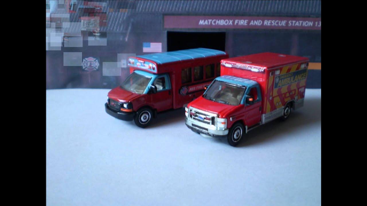 The Crew Autos >> Matchbox GMC School Bus 2008 Custom - YouTube