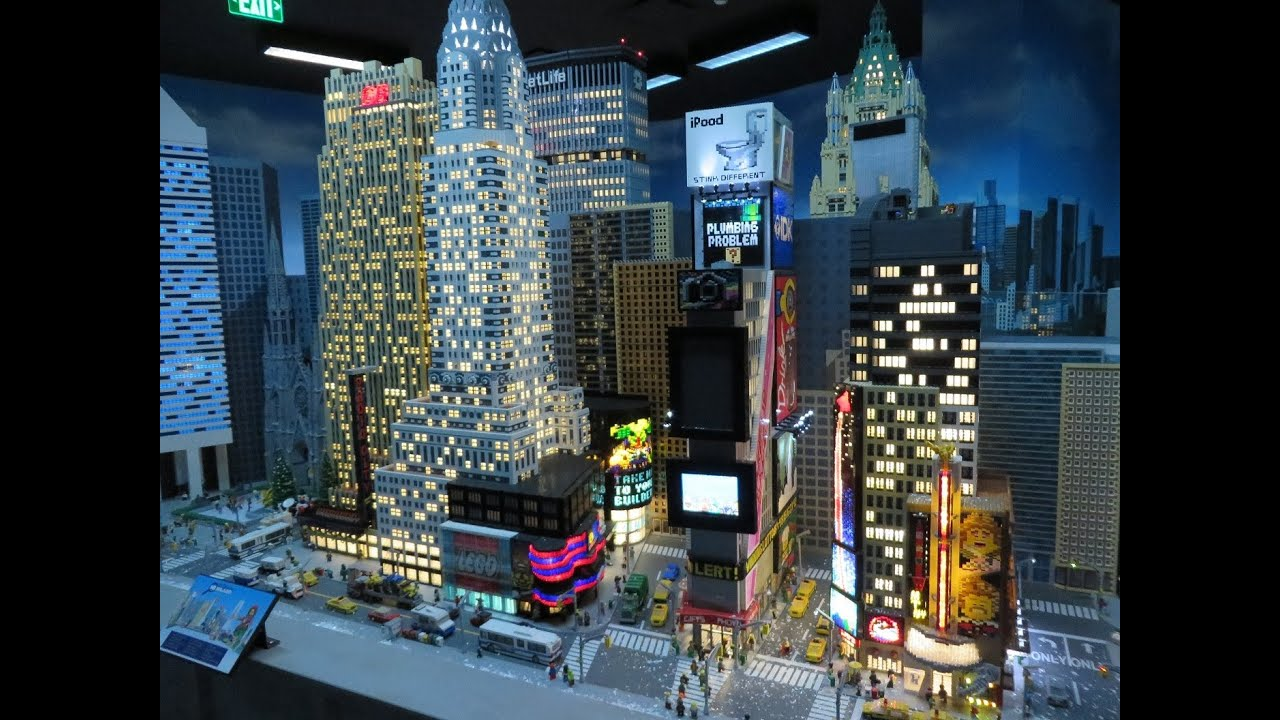 Discovery times square coupon lego