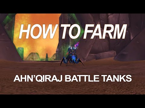How to Farm the Ahn'Qiraj Battle Tank Mounts - Short Guide