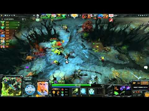 Vici Gaming vs LGD Game 1  ESL One New York CN Qualifiers TobiWanDOTA
