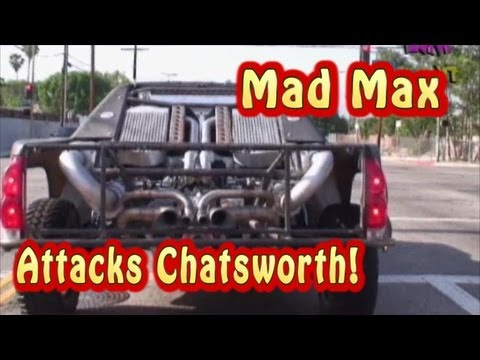 Mad Max Attacks Chatsworth!  LOL.  Must See 1750 HP TT Street Test.  From Nelson Racing Engines.