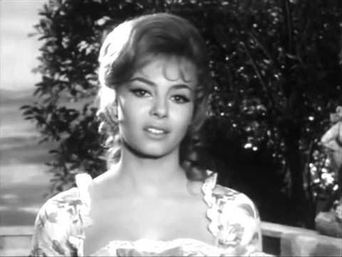 Мишель Мерсье на съемках фильма Анжелика