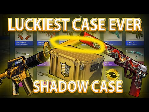 LUCKIEST CASE EVER - THE SHADOW CASE