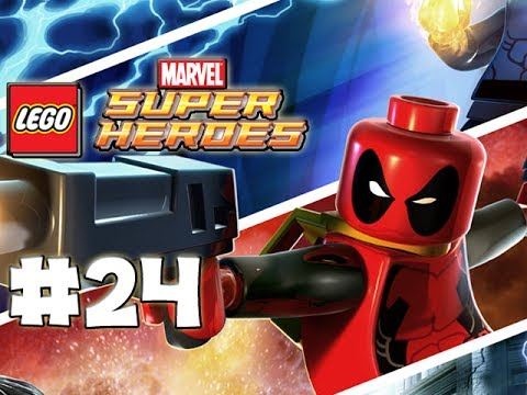 LEGO Marvel Superheroes - LEGO BRICK ADVENTURES - Part 24 - Ant Man! (HD Gameplay Walkthrough)